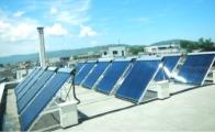 業務用太陽熱給湯システム